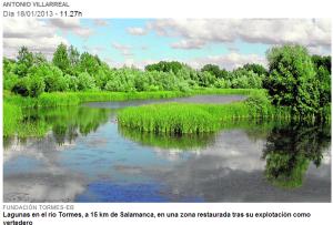 Lagunas en el Tormes