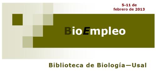 BioEmpleo 11 febrero
