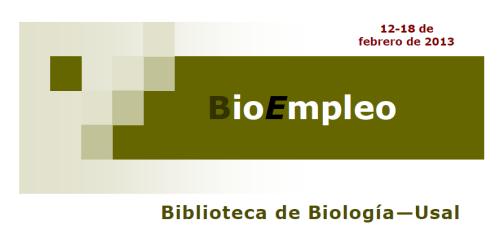BioEmpleo 18 febrero