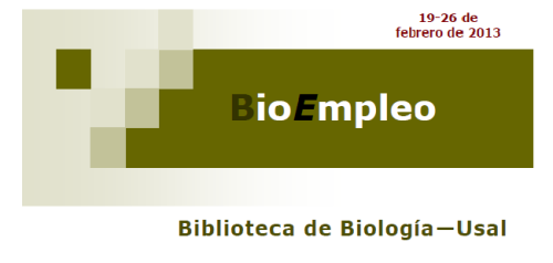 BioEmpleo 26 febrero