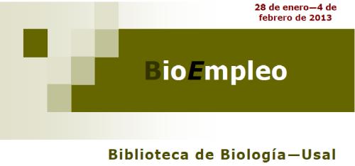 BioEmpleo 4 febrero