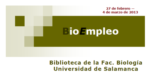 BioEmpleo 4 marzo