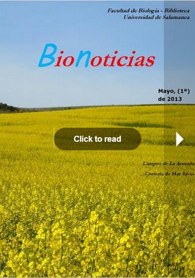 BioNoticias 8 mayo
